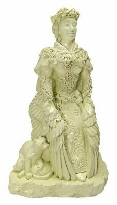 Freya statue Bone sm (322sfyb)