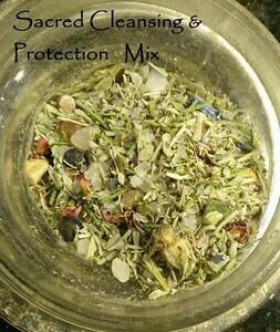Sacred protection mix 1 oz