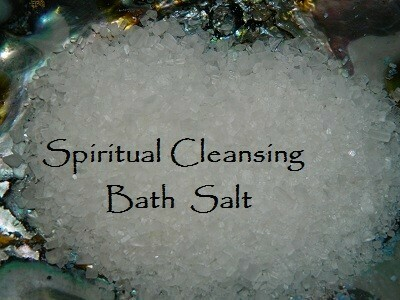 Spiritual cleansing bath salt 5 oz