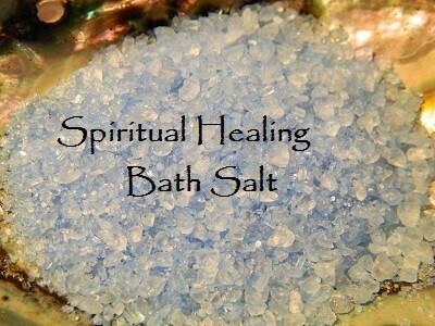Spiritual Healing bath salt 5 oz