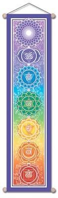 Chakra Banner Lg 12x48