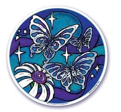 Butterfly dream window sticker