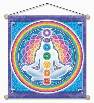 Light body meditation banner 14x15