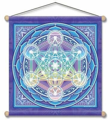 Metatron Mandala banner 14x15