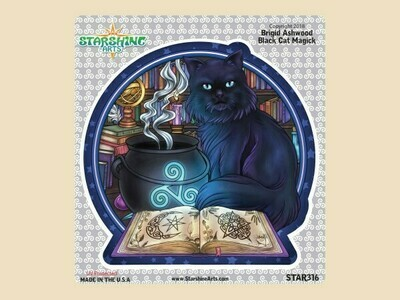 Black Cat Magick sticker