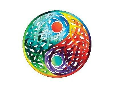 Celtic Yin/Yang sticker
