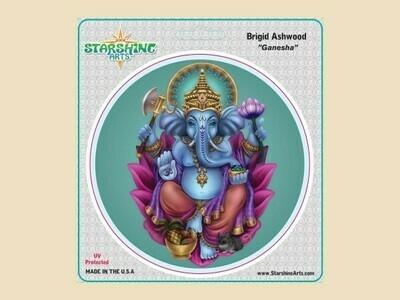 Ganesha sticker (ashwood)