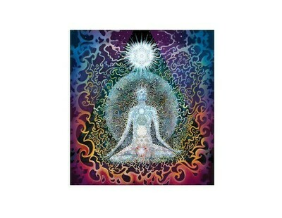 Meditation sticker