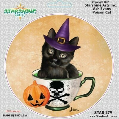 Poison Cat Sticker (SA) star279