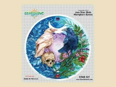 Morrighans Ravens Sticker