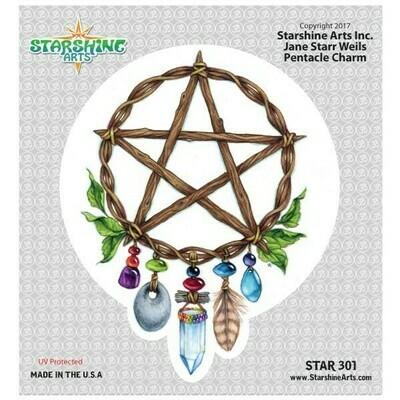 Pentacle Charm Sticker (SA) Star301