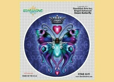 Steam Butterfly sticker