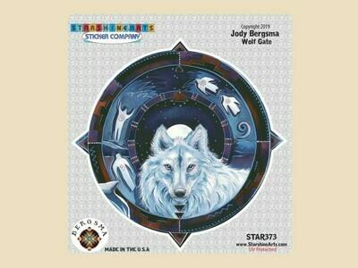 Wolf Gate sticker