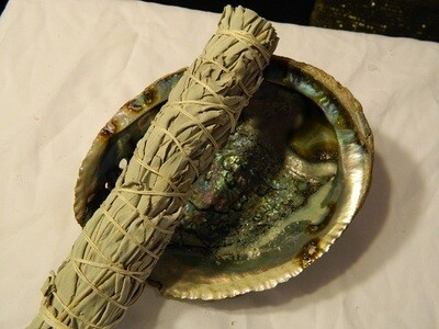 White sage smudge med