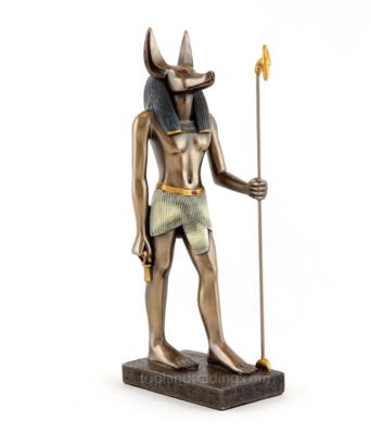 Anubis statue standing