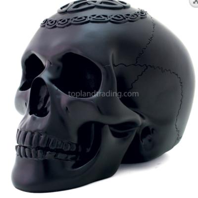 Celtic black skull