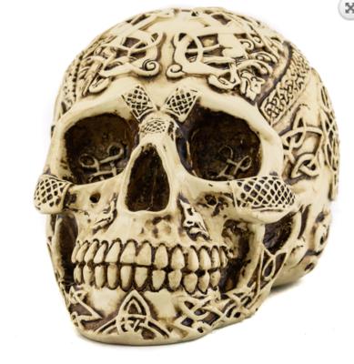 Celtic skull w/ nose ring