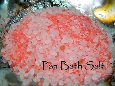 Pan bath salt 5 oz