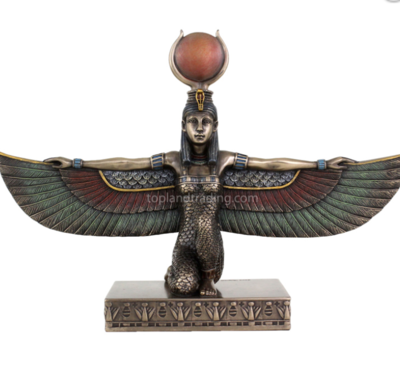 Isis Kneeling Statue medium