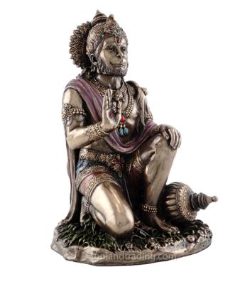 Hanuman statue seated