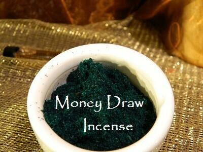 Money Draw Incense 1/2 oz