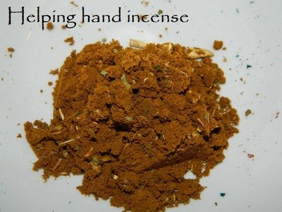 Helping Hand Incense 1/2 oz