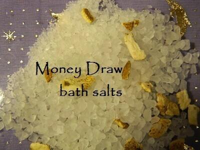 Money draw bath salt 5 oz