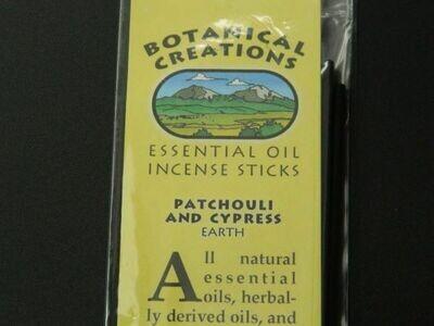 Botanical Creations Patchouli + Cypress