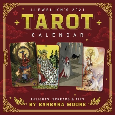 2021 Llewellyn's Tarot calendar