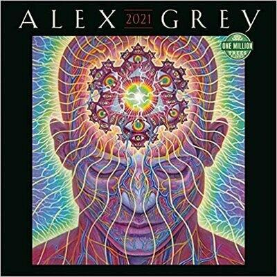2021 Alex Grey Wall Calendar