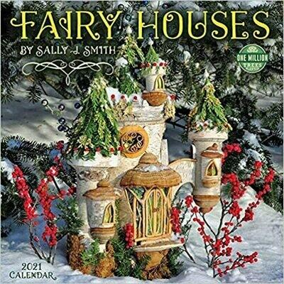 2021 Fairy houses Wall Calendar