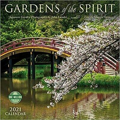 2021 Gardens of the Spirit wall calendar