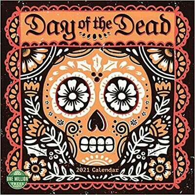 2021 Day of the Dead Wall Calendar