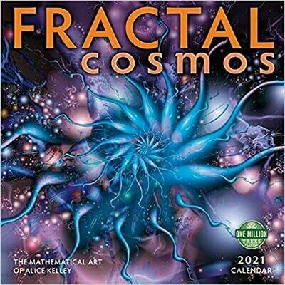 2021 Fractal Cosmos Wall Calendar