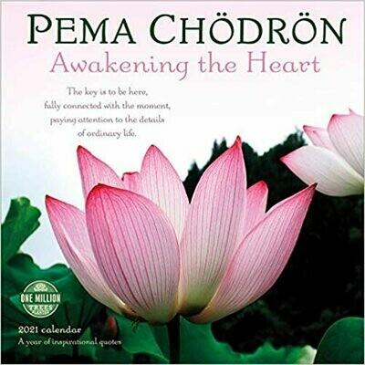 2021 Pema Chodron Wall Calendar