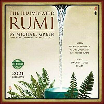 2021 Illuminated Rumi Wall Calendar
