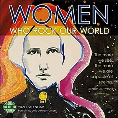 2021 Women Who rock our World Wall Calendar