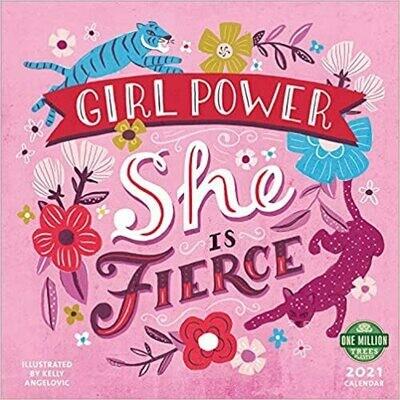 2021 Girl Power Wall Calendar