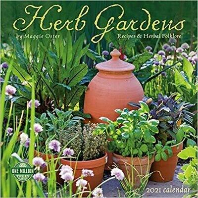 2021 Herb Gardens Wall Calendar