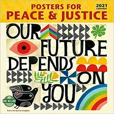 2021 Posters for Peace and Justice Wall Calendar