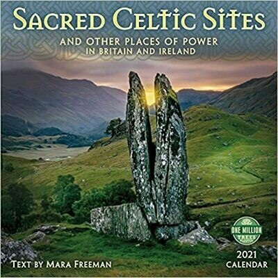 2021 Sacred Celtic Sites Wall Calendar