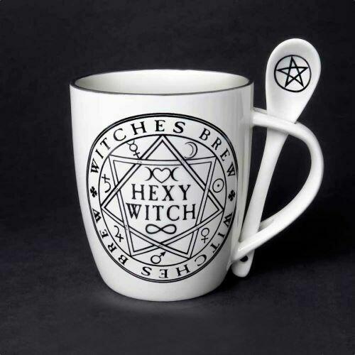 Hexy Witch mug & spoon set