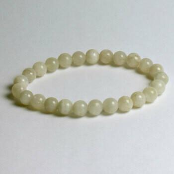 Rainbow Moonstone 8 mm stone bead bracelet