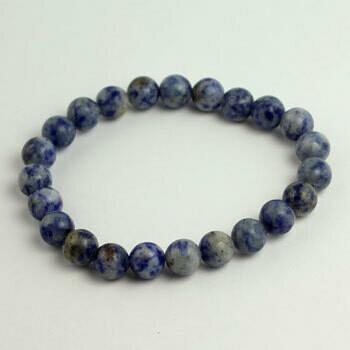 Sodalite 8 mm Stone bead bracelet