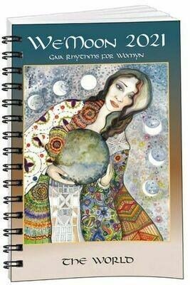 2021 We Moon datebook spiral bound
