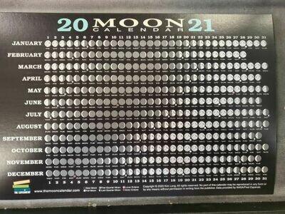 2021 Moon Calendar card