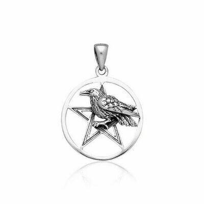 Raven Pentacle Pendant