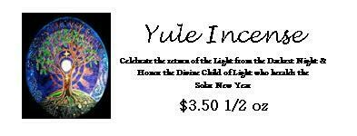 Yule Incense Pwd 1/2 oz pack