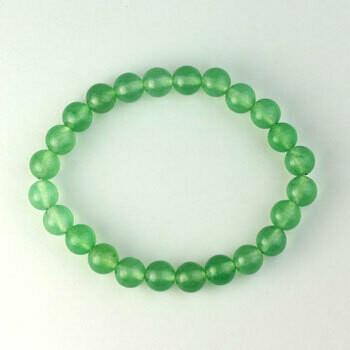 Green Aventurine 8 mm Stone Bead Bracelet