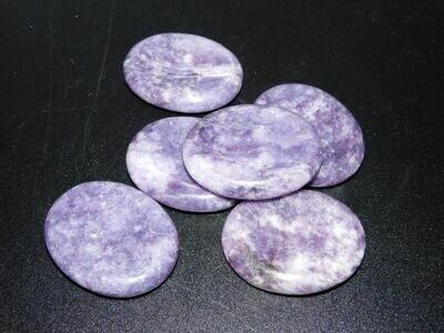 Lepidolite Worry Stone 1-5
